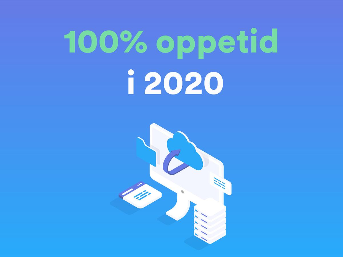 GatewayAPI havde en oppetid på 100% i 2020