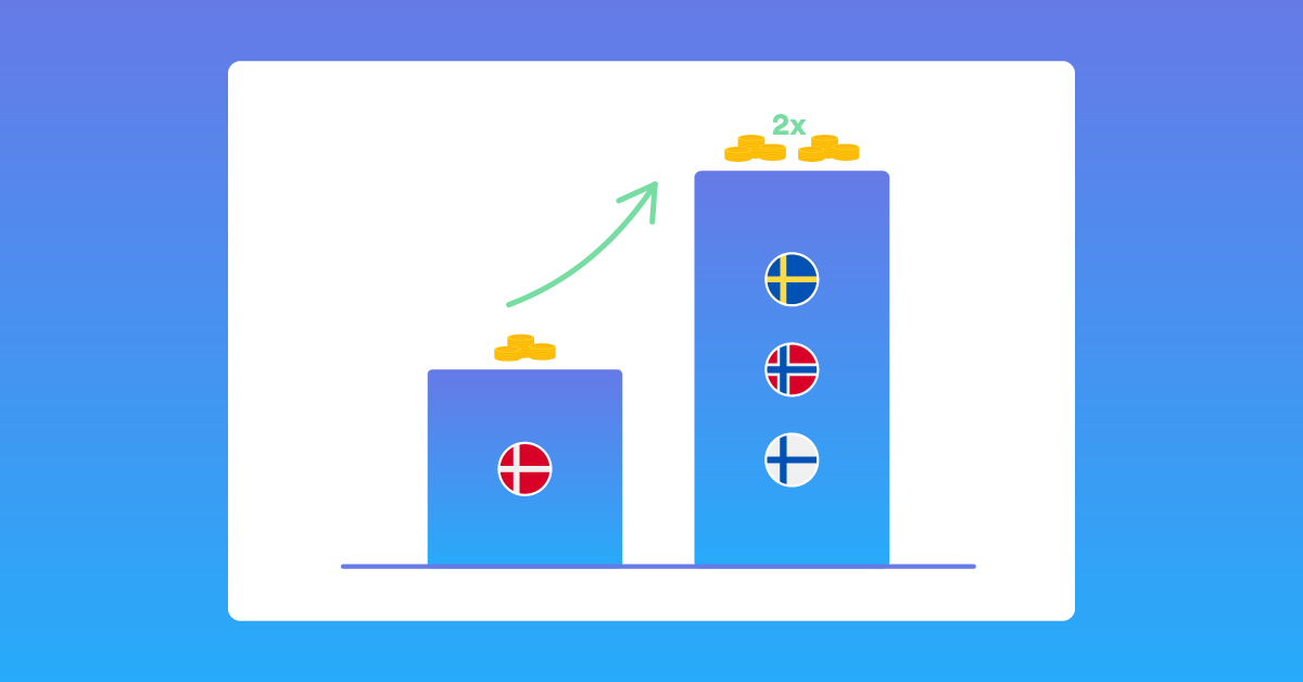 The Danish telecom companies have announced large price increases for SMS traffic to Denmark